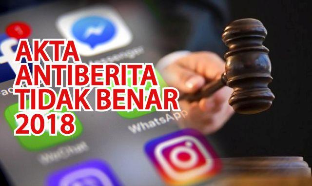 Malaysia Officially Enforce Anti Fake News Legislation Akta 803